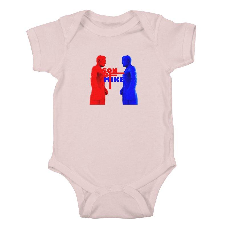 "SON OF MIKE ""Boxers"" Kids Baby Bodysuit by Turkeylegsray's Artist Shop"
