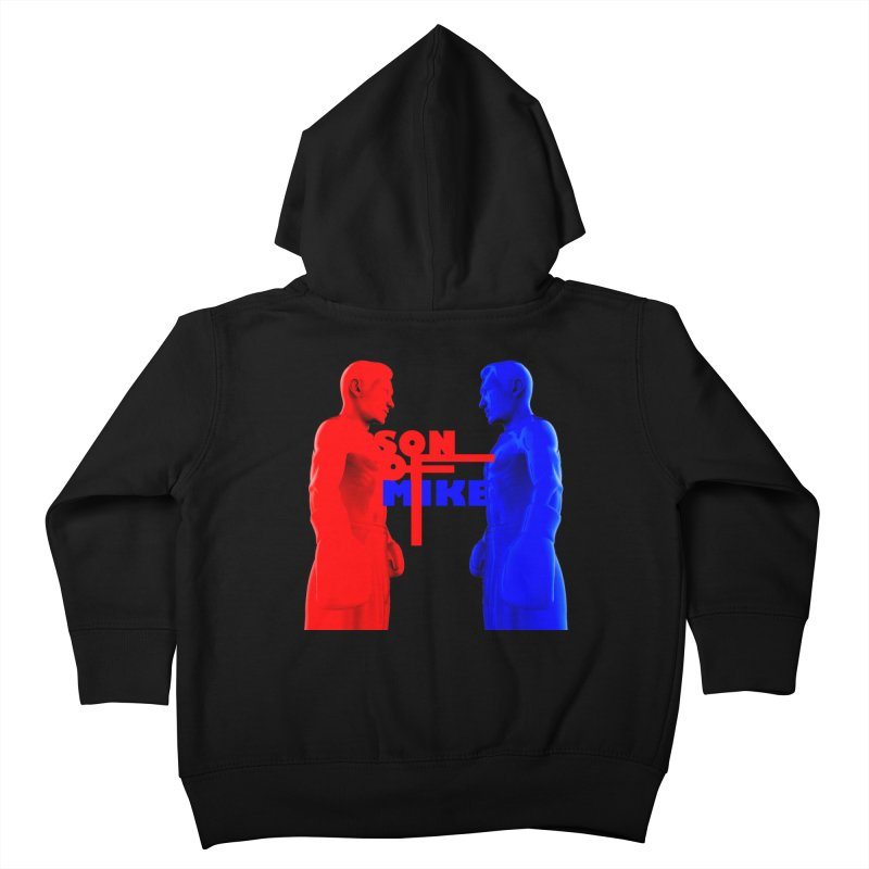 "SON OF MIKE ""Boxers"" Kids Toddler Zip-Up Hoody by Turkeylegsray's Artist Shop"