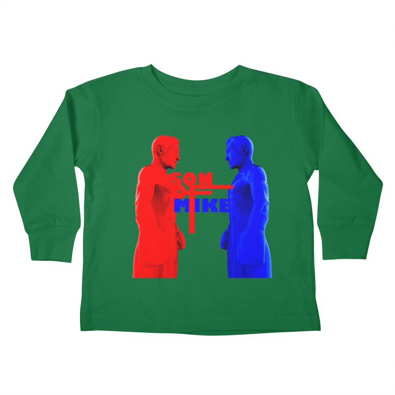 """SON OF MIKE """"Boxers"""" Kids Toddler Longsleeve T-Shirt by Turkeylegsray's Artist Shop"""