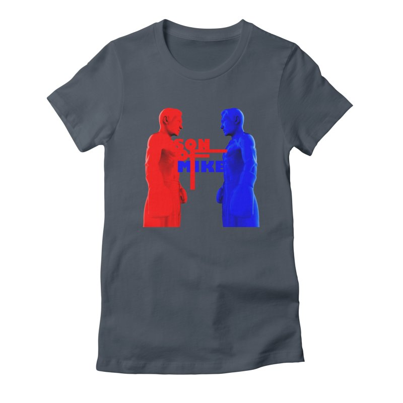 """SON OF MIKE """"Boxers"""" Women's T-Shirt by Turkeylegsray's Artist Shop"""