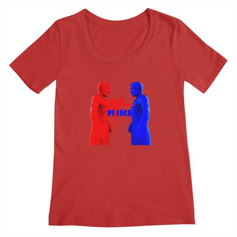 "SON OF MIKE ""Boxers"" Women's Regular Scoop Neck by Turkeylegsray's Artist Shop"