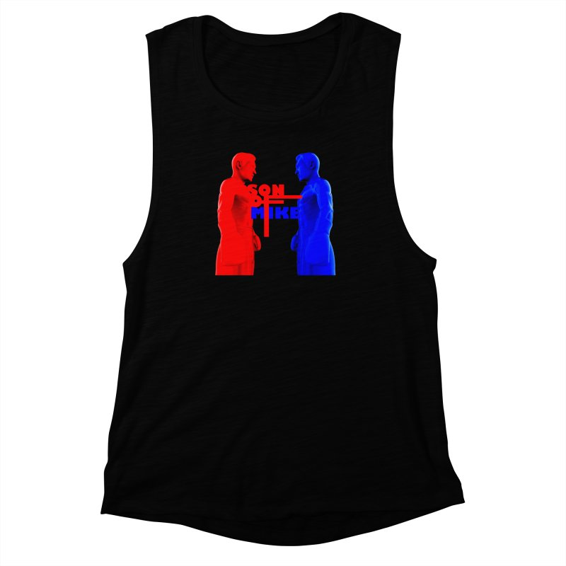 "SON OF MIKE ""Boxers"" Women's Muscle Tank by Turkeylegsray's Artist Shop"