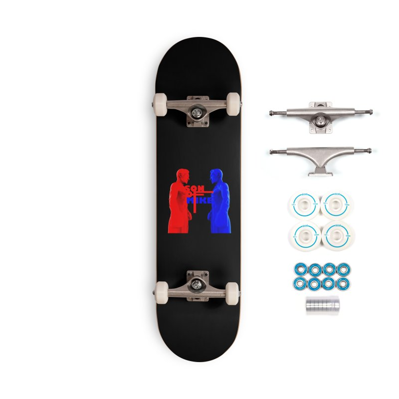 """SON OF MIKE """"Boxers"""" Accessories Complete - Basic Skateboard by Turkeylegsray's Artist Shop"""