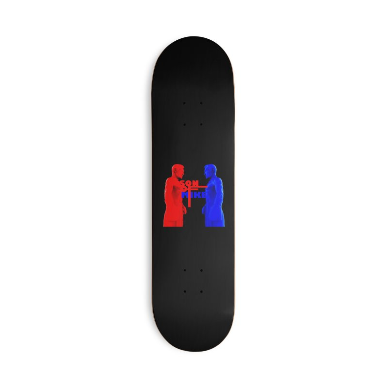"""SON OF MIKE """"Boxers"""" Accessories Deck Only Skateboard by Turkeylegsray's Artist Shop"""