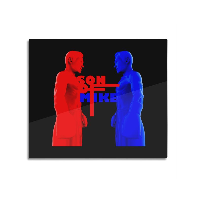 """SON OF MIKE """"Boxers"""" Home Mounted Aluminum Print by Turkeylegsray's Artist Shop"""