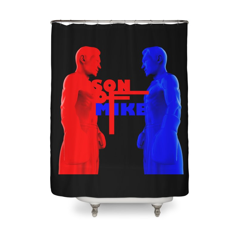 """SON OF MIKE """"Boxers"""" Home Shower Curtain by Turkeylegsray's Artist Shop"""
