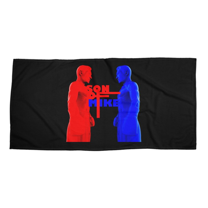 """SON OF MIKE """"Boxers"""" Accessories Beach Towel by Turkeylegsray's Artist Shop"""