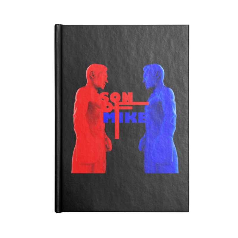 "SON OF MIKE ""Boxers"" Accessories Lined Journal Notebook by Turkeylegsray's Artist Shop"
