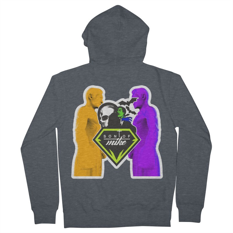 """SON OF MIKE """"Boxers II"""" Women's French Terry Zip-Up Hoody by Turkeylegsray's Artist Shop"""