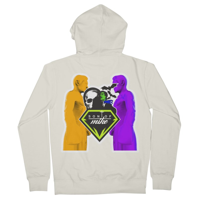 """SON OF MIKE """"Boxers II"""" Men's French Terry Zip-Up Hoody by Turkeylegsray's Artist Shop"""