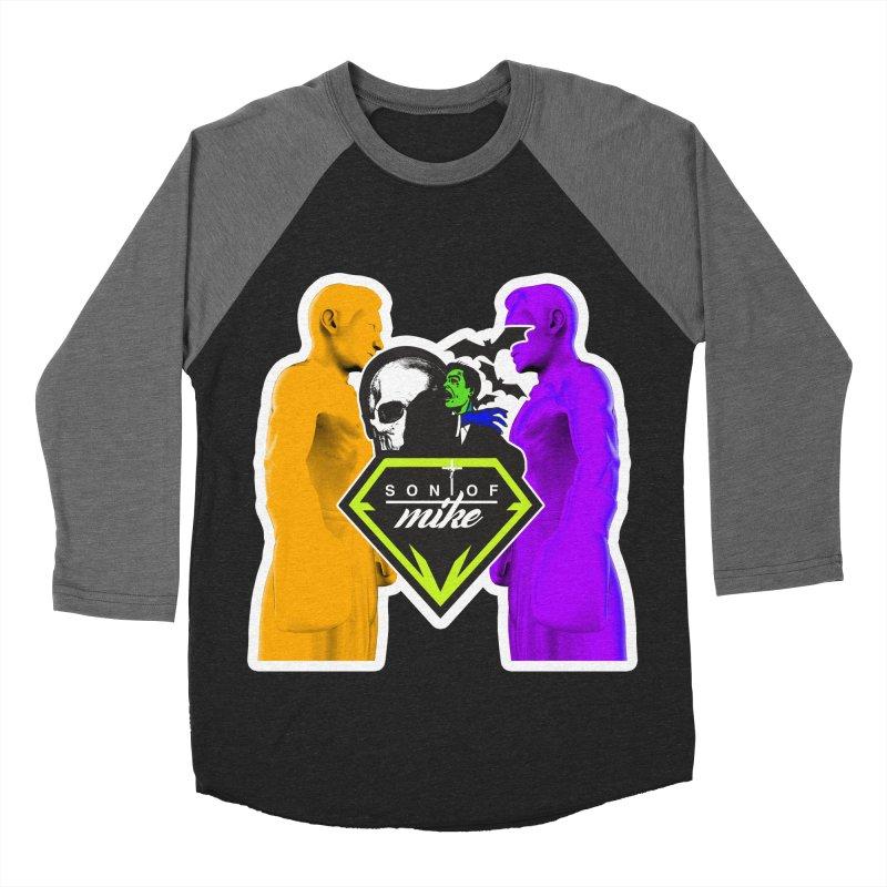 "SON OF MIKE ""Boxers II"" Women's Baseball Triblend Longsleeve T-Shirt by Turkeylegsray's Artist Shop"