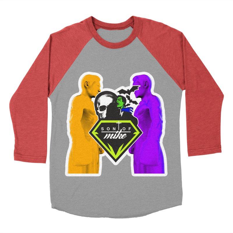 "SON OF MIKE ""Boxers II"" Men's Baseball Triblend Longsleeve T-Shirt by Turkeylegsray's Artist Shop"