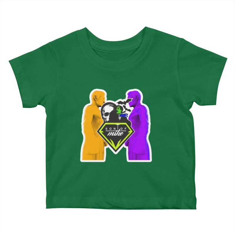 """SON OF MIKE """"Boxers II"""" Kids Baby T-Shirt by Turkeylegsray's Artist Shop"""