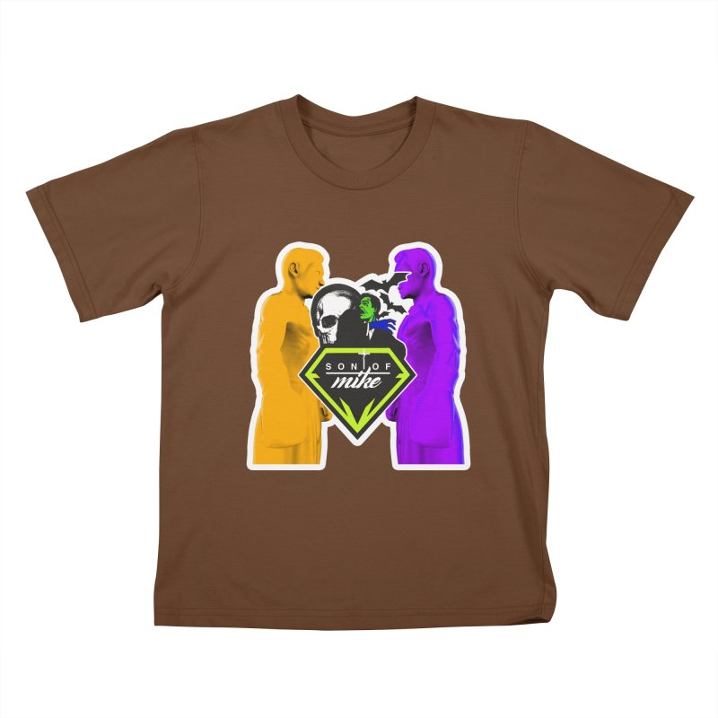 "SON OF MIKE ""Boxers II"" Kids T-Shirt by Turkeylegsray's Artist Shop"