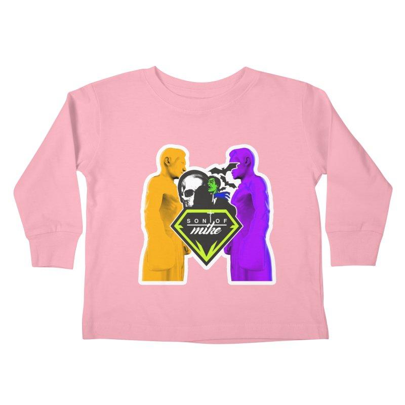 "SON OF MIKE ""Boxers II"" Kids Toddler Longsleeve T-Shirt by Turkeylegsray's Artist Shop"