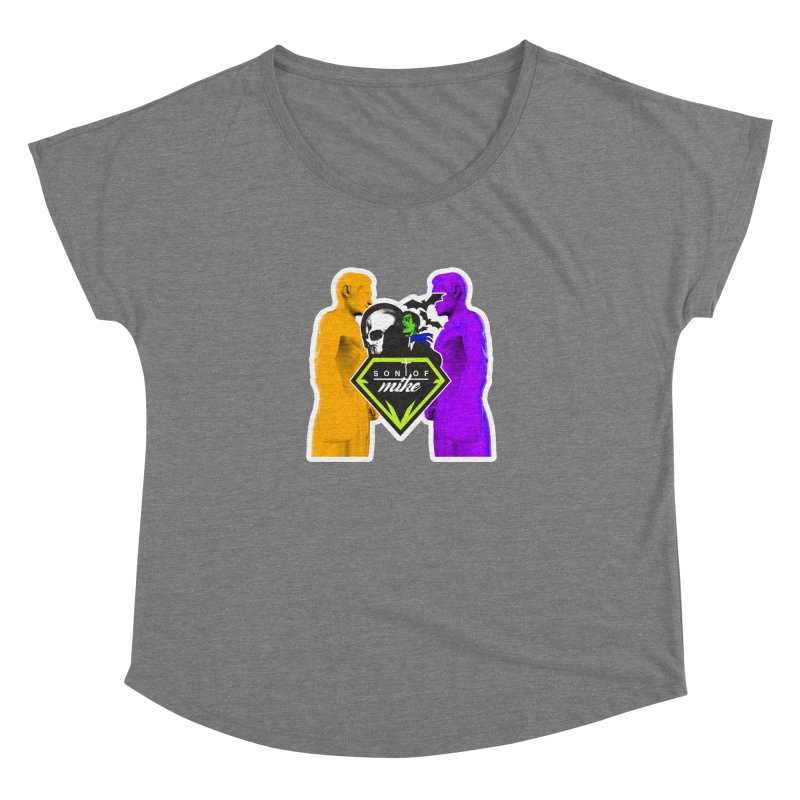 "SON OF MIKE ""Boxers II"" Women's Scoop Neck by Turkeylegsray's Artist Shop"