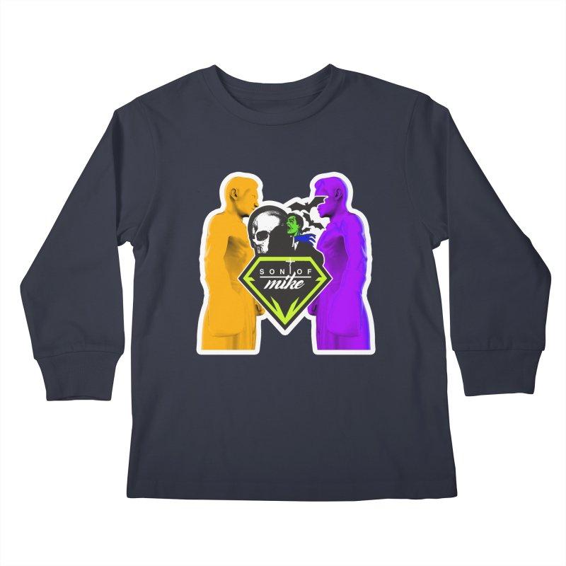 "SON OF MIKE ""Boxers II"" Kids Longsleeve T-Shirt by Turkeylegsray's Artist Shop"