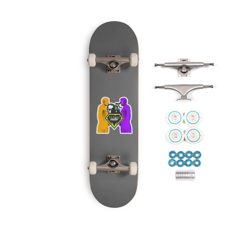 """SON OF MIKE """"Boxers II"""" Accessories Complete - Basic Skateboard by Turkeylegsray's Artist Shop"""