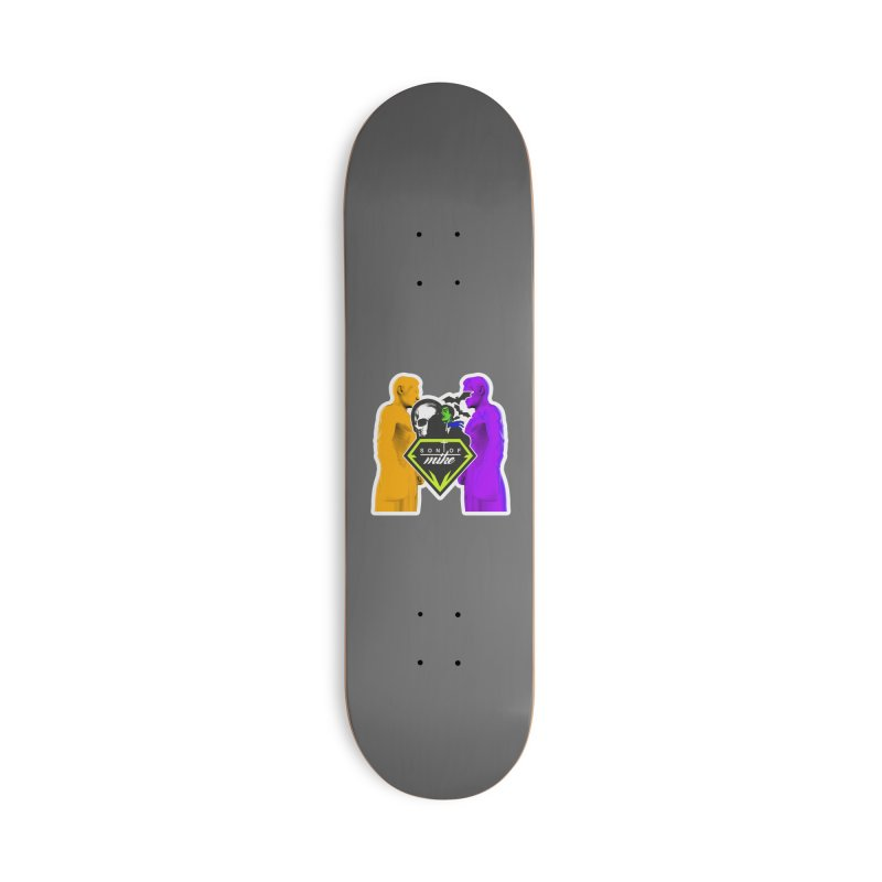 """SON OF MIKE """"Boxers II"""" Accessories Deck Only Skateboard by Turkeylegsray's Artist Shop"""