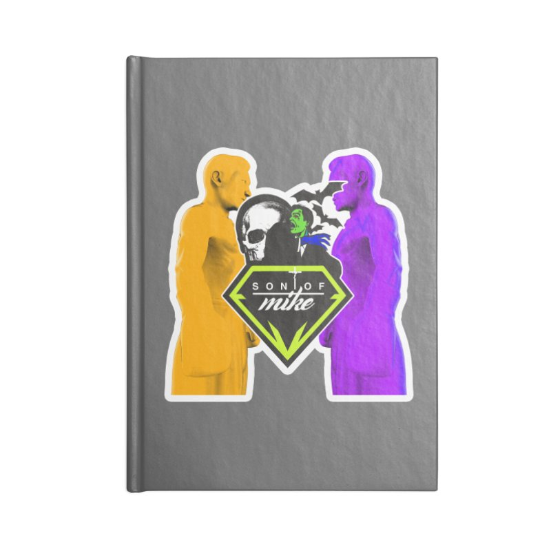 "SON OF MIKE ""Boxers II"" Accessories Lined Journal Notebook by Turkeylegsray's Artist Shop"