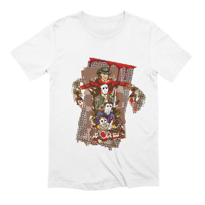 SLASHERS! Men's Extra Soft T-Shirt by Turkeylegsray's Artist Shop