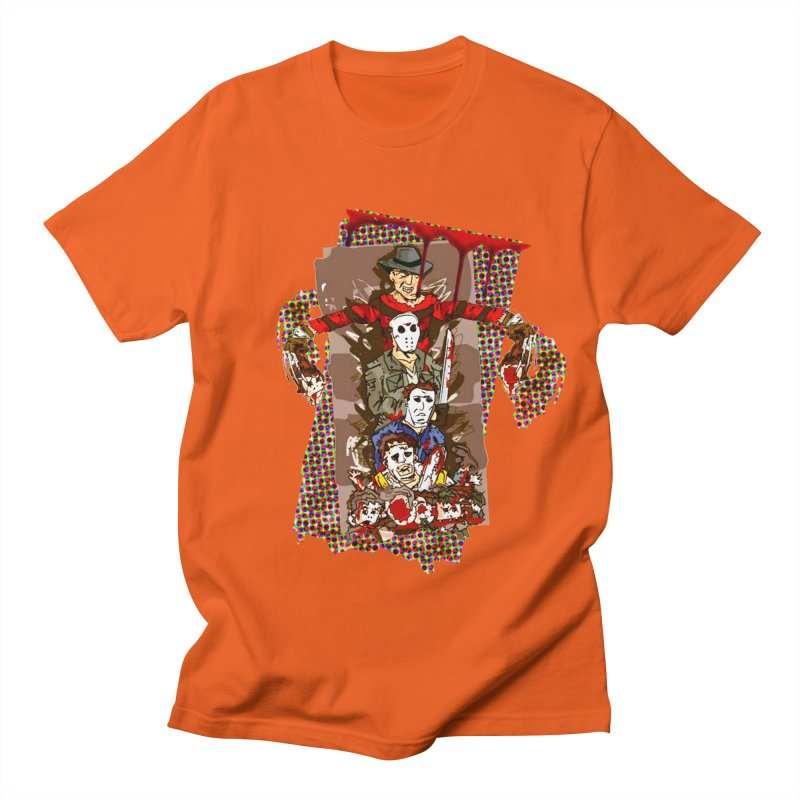 SLASHERS! Women's Regular Unisex T-Shirt by Turkeylegsray's Artist Shop