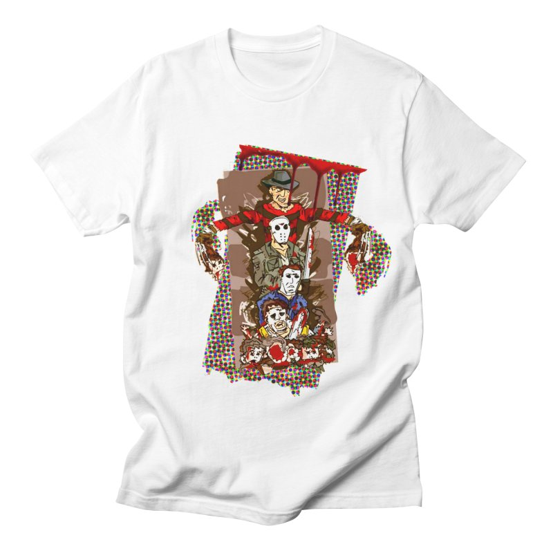 SLASHERS! Men's Regular T-Shirt by Turkeylegsray's Artist Shop