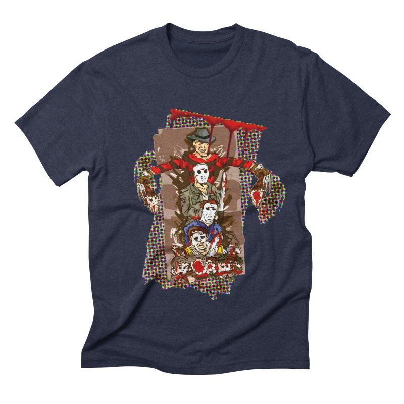 SLASHERS! Men's Triblend T-Shirt by Turkeylegsray's Artist Shop