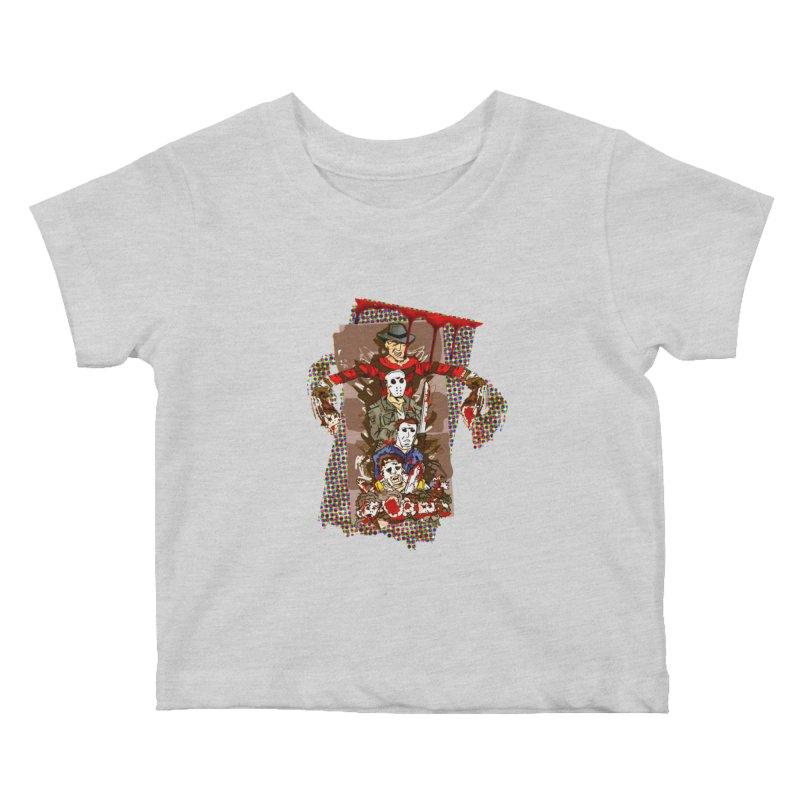 SLASHERS! Kids Baby T-Shirt by Turkeylegsray's Artist Shop