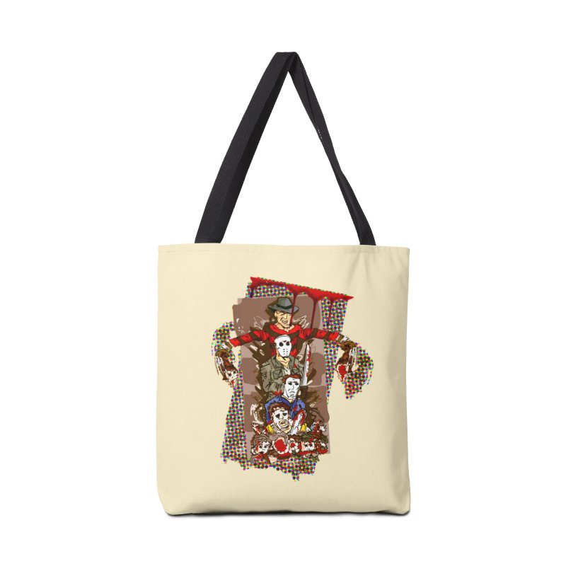 SLASHERS! Accessories Tote Bag Bag by Turkeylegsray's Artist Shop