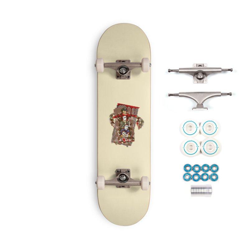 SLASHERS! Accessories Complete - Basic Skateboard by Turkeylegsray's Artist Shop