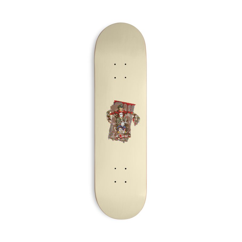SLASHERS! Accessories Deck Only Skateboard by Turkeylegsray's Artist Shop