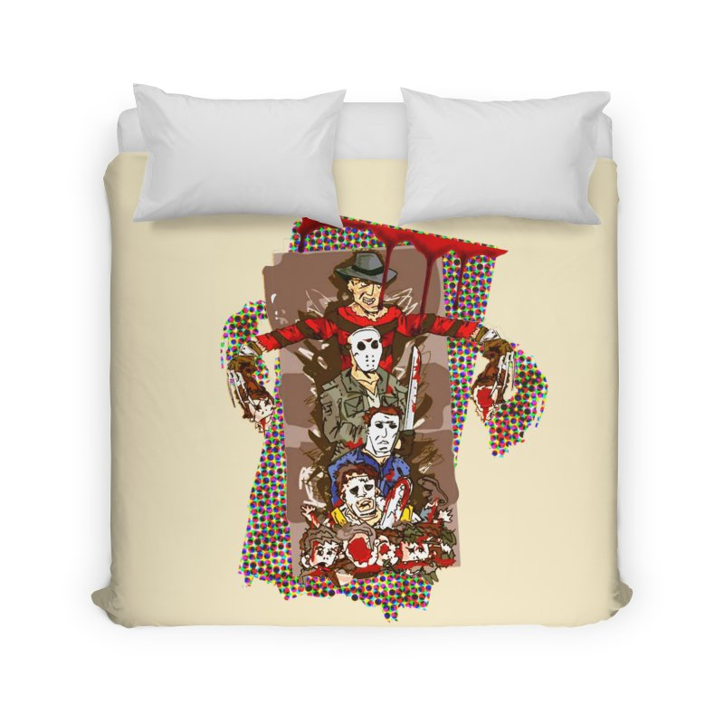 SLASHERS! Home Duvet by Turkeylegsray's Artist Shop