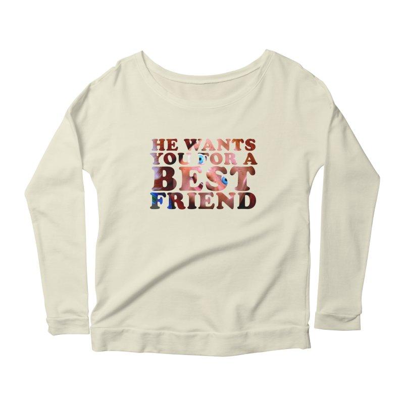CHUCKY Women's Scoop Neck Longsleeve T-Shirt by Turkeylegsray's Artist Shop