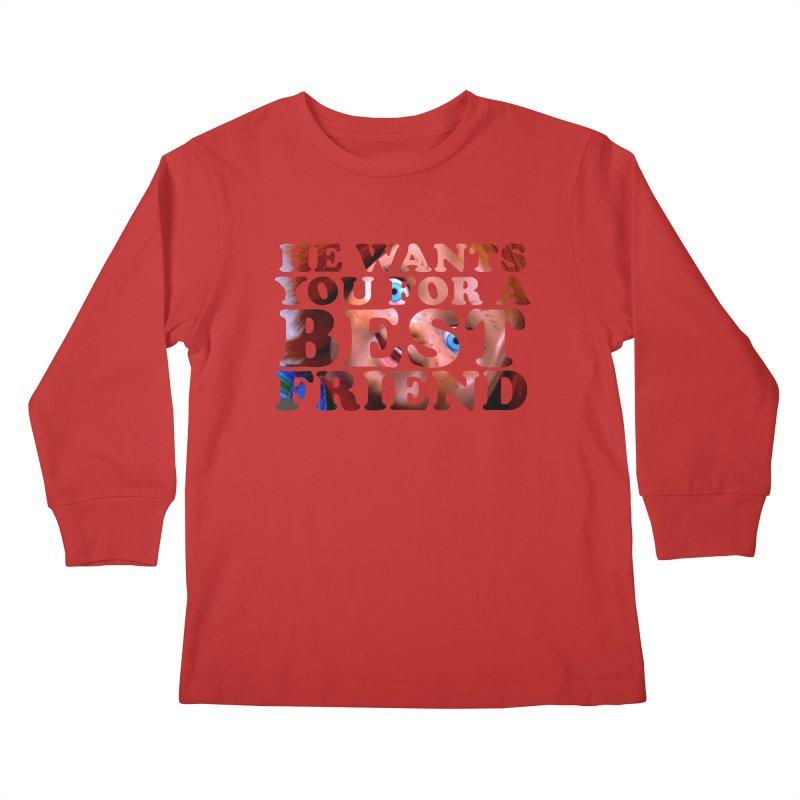CHUCKY Kids Longsleeve T-Shirt by Turkeylegsray's Artist Shop
