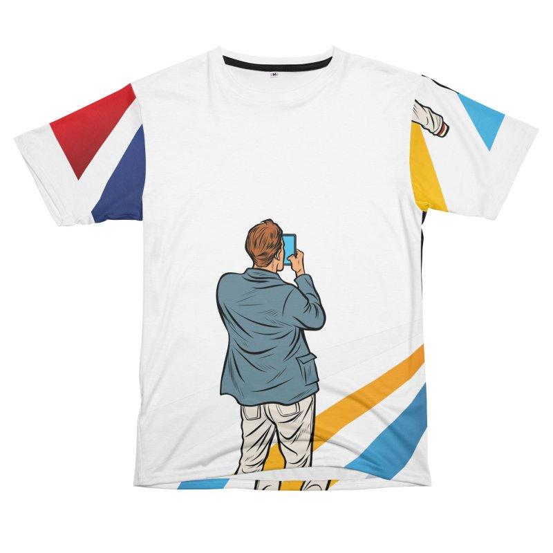 TELEVISION Women's Unisex T-Shirt Cut & Sew by Turkeylegsray's Artist Shop