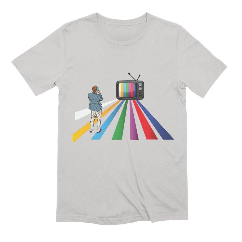 TELEVISION Men's Extra Soft T-Shirt by Turkeylegsray's Artist Shop