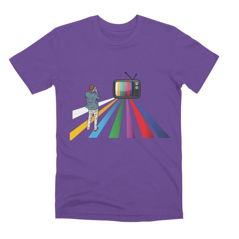 TELEVISION Men's Premium T-Shirt by Turkeylegsray's Artist Shop