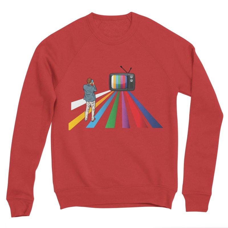 TELEVISION Men's Sponge Fleece Sweatshirt by Turkeylegsray's Artist Shop