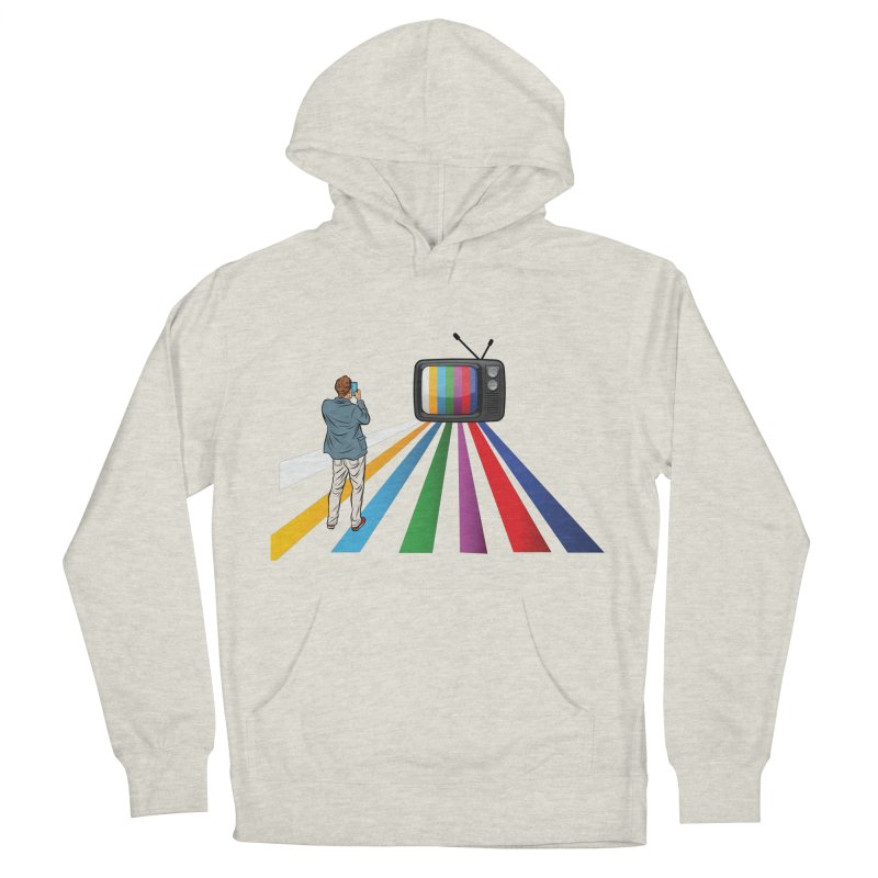 TELEVISION Women's French Terry Pullover Hoody by Turkeylegsray's Artist Shop