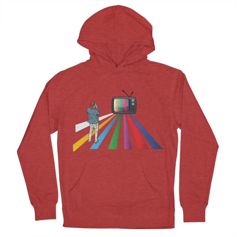 TELEVISION Men's French Terry Pullover Hoody by Turkeylegsray's Artist Shop