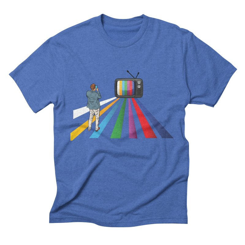 TELEVISION Men's Triblend T-Shirt by Turkeylegsray's Artist Shop