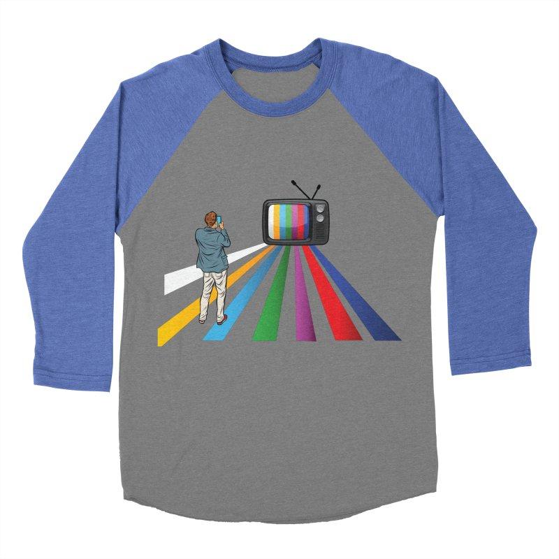 TELEVISION Men's Baseball Triblend Longsleeve T-Shirt by Turkeylegsray's Artist Shop