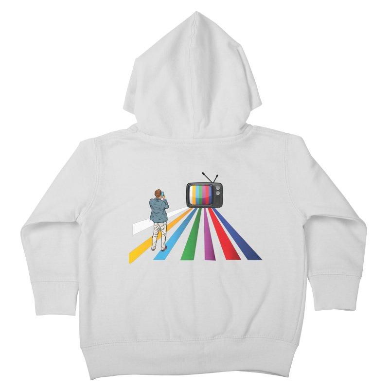 TELEVISION Kids Toddler Zip-Up Hoody by Turkeylegsray's Artist Shop