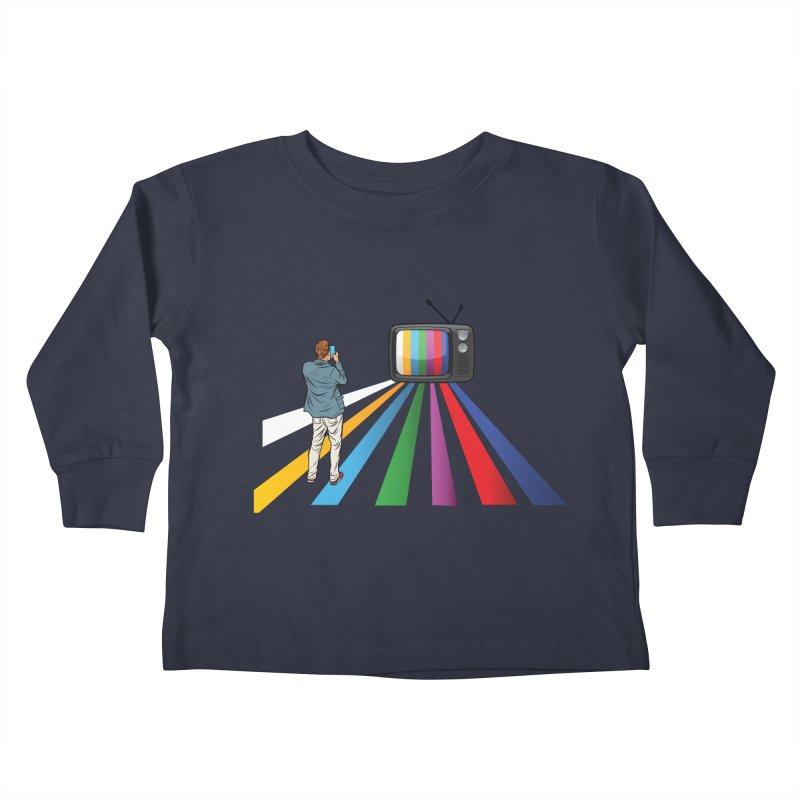 TELEVISION Kids Toddler Longsleeve T-Shirt by Turkeylegsray's Artist Shop