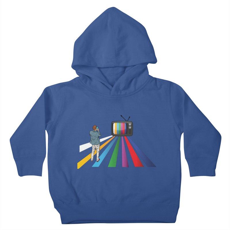 TELEVISION Kids Toddler Pullover Hoody by Turkeylegsray's Artist Shop