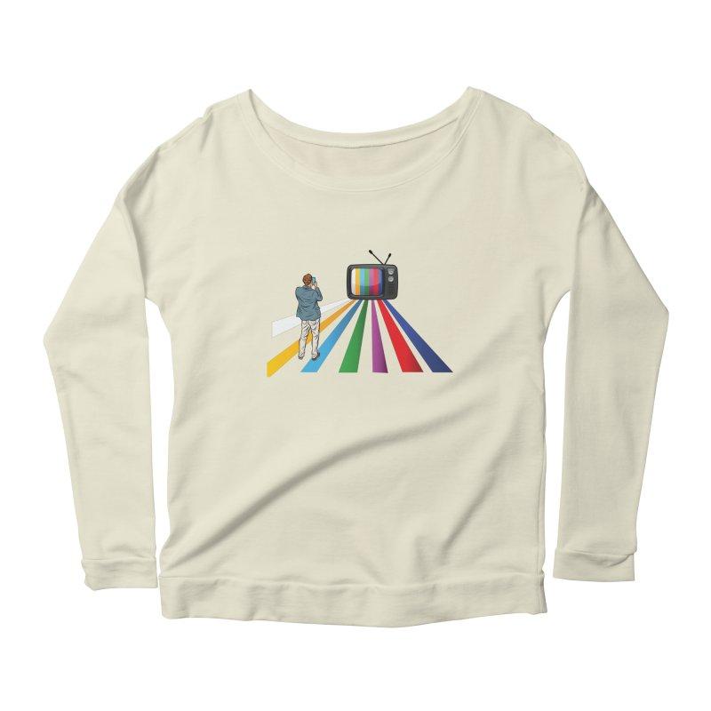 TELEVISION Women's Scoop Neck Longsleeve T-Shirt by Turkeylegsray's Artist Shop