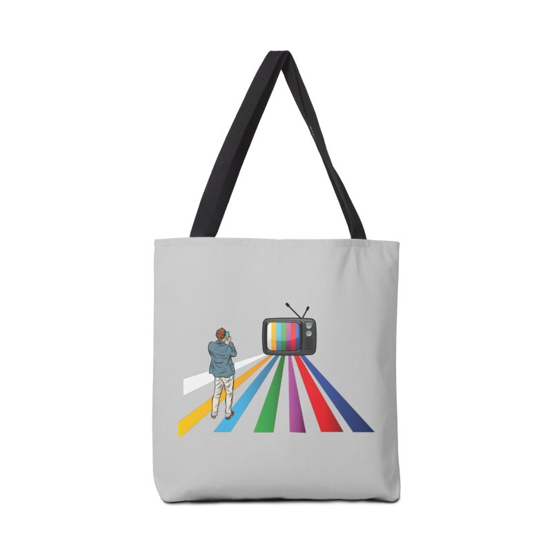 TELEVISION Accessories Tote Bag Bag by Turkeylegsray's Artist Shop