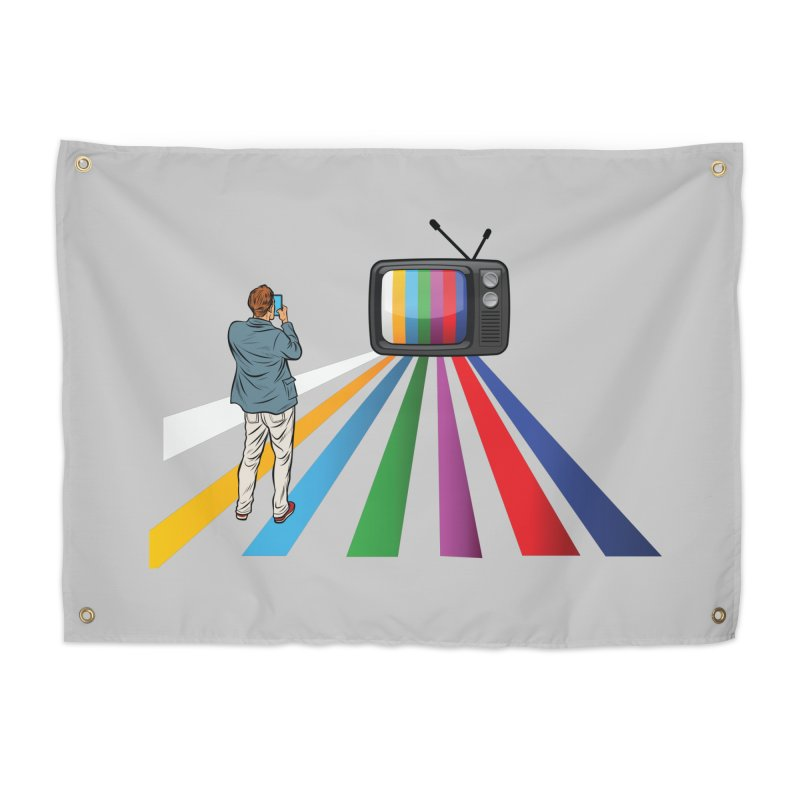 TELEVISION Home Tapestry by Turkeylegsray's Artist Shop