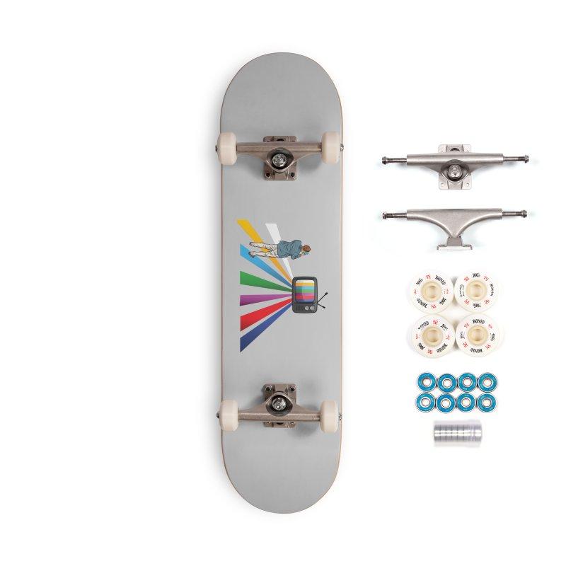 TELEVISION Accessories Complete - Premium Skateboard by Turkeylegsray's Artist Shop